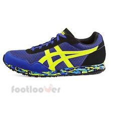 Scarpe Asics Curreo D50QQ 5889 unisex running Blue Lime Fashion Moda Retrò IT