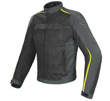 Giacca Dainese Hydra Flux Ddry nero giallo fluo black yellow fluo moto jacket
