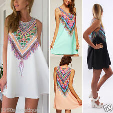 Dress Summer Beach Uk Womens Ladies Mini Playsuit Jumpsuit 6 14 Holiday Size Sun