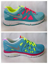 scarpe donna bambina running NIKE DUAL FUSION REVOLUTION 2 VERDE FLUO 37,5  38,5