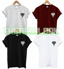 DRIPPING DIAMOND POCKET T SHIRT WASTED DOPE HIPSTER TUMBLRN FASHION SWAG BLOOD