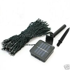 Solar Powered 100 LED Outdoor Garden Party String Fairy Lights Lamp