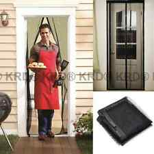 Magic Door Mesh MAGNETIC FLY SCREEN Bug Insect Summer Curtain Net AS SEEN ON TV