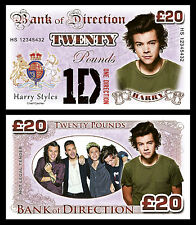 Harry Styles - One Direction Novelty Banknotes