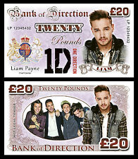 Liam Payne - One Direction Novelty Banknotes