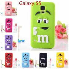 New Arrival 3D Cute Design Silicon Back Case Cover For Samsung Galaxy S5 i9600