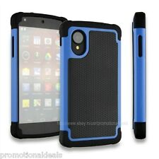 PREMIUM STYLE GRIP RUGGED Protective HARD BACK CASE COVER FOR LG Google Nexus 5