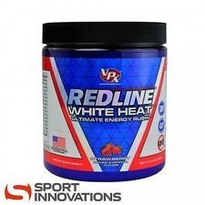 VPX #4 Redline White Heat Strawberry 40 Servings 156g USA Pre-Workout Booster