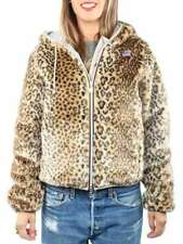 K-WAY LILY THERMOPLUS PELUCHE LEOPARD K0042Y0 908 Giacca invernale donna