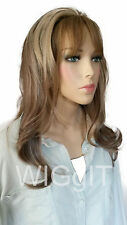 IVY | HALF WIG BLONDE/BROWN |  SYNTHETIC LONG STRAIGHT OPEN CURLS | HAIR COUTURE