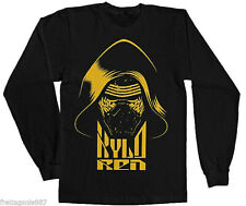 STAR WARS Episode VII THE FORCE AWAKENS  KYLO REN  longsleeve-shirt