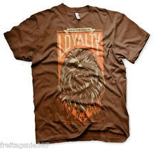 STAR WARS Episode VII THE FORCE AWAKENS  CHEWBACCA LOYALTY  t-shirt camiseta