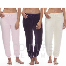 Ladies Snuggle Fleece Lounge Pants Pyjama Trouser Bottoms Womens Bed Nightwear