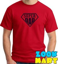 T shirt [Super Dad] Design Men's Printed Tshirt - 100% Cotton Tees [LMAO]