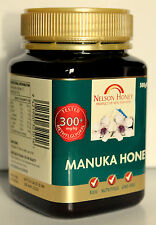 300+ Manuka Honey Raw Pure 250g 500g Nelson finest, highest grade manuka honey