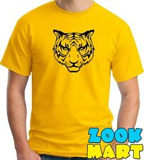 T shirt [Tiger] Design Men's Printed Tshirt - 100% Cotton Tees [LMAO]