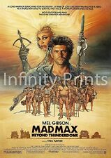 Mad Maz 3 Beyond the Thunderdome Movie Film Poster A2 A3 A4