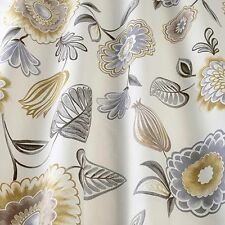 SMD iLiv Seralio Mineral Floral Print 100% Cotton Upholstery Curtain Fabric