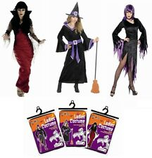 Sexy Ladies Halloween Fancy Dress Costume Outfit Size S M L Vampire Witch Vamp