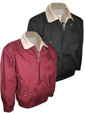 Mens Bomber Harrington Vintage Jackets Classic Style Casual Coats Size S to 2XL