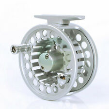 New Aluminium Trout Salmon Sea Fly Fishing Line Reel 2/3 5/6 9/11 WT UK STOCK