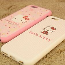 "Cute Hello kitty Soft TPU back case cover for Apple iPhone 6,6S,6Splus(5.5"")"