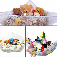 JUMBO Toy Hammock Net Organize Stuffed Animals Hanging Storage Kids Toys Dolls#o