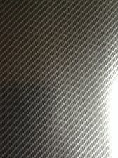 Hydrographic film Silver True Carbon fibre water transfer printing film HugasLTD