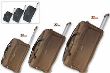 Lightweight Luggage Wheeled Trolley Holdall Suitcase Duffle Bag Cabin Travel Bag
