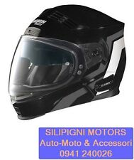 CROSSOVER NOLAN N71 MOTION N-COM 06 Metal Black Casco Convertibile Jet Integrale