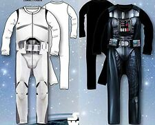 Star Wars Official Kids Sleepsuit Pyjama Costume Darth Vader StormTrooper