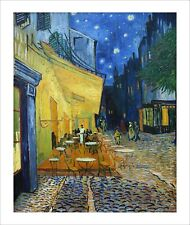Van Gogh - Cafe Terrace at Night - fine art giclee print poster - various sizes