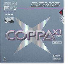 Donic Coppa X 1 Turbo Platin Ping Pong Topping