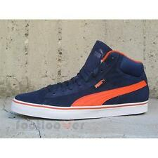 Scarpe Puma 1948 mid vulc 358769 02 sneakers uomo moda Suede Navy Orange IT