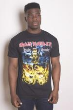 Official IRON MAIDEN Holy Smoke T-shirt Black  Size S - XXL No Prayer For Dying