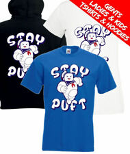 Stay Puft Marshmallow Man Ghostbusters Retro Movie T Shirt