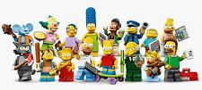 New Lego The Simpsons Series 1 Mini Figures Minifigs Bart Lisa Homer Marge 71005