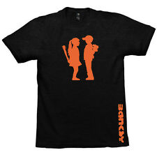 Banksy Boy Meets Girl Mens American Apparel Tee, T-Shirt Graffiti Artist TS663