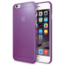 Transparent Matte Frosted Purple Shell Case Cover For Apple iPhone 6+ & 6s PLUS