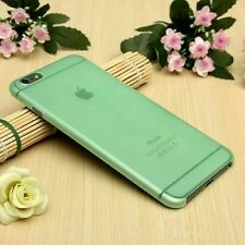 Transparent Green Matte Frosted Hard Cover Shell Case For Apple iPhone 6/6s