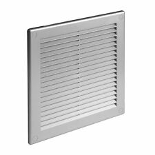 Satin Ducting Ventilation Cover Grey Wall Air Vent Grille Louvre Grid TRUSS