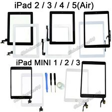 For iPad 2 3 4 5 Air with Retina Mini 1 2 3 Touch Screen Digitizer + Home Button