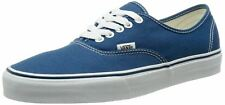 Vans Authentic Navy White Canvas Unisex Skate Trainers Shoes
