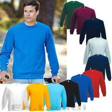 Fruit of the Loom Classic Set-in Sweat Shirt Herren Arbeits Pullover Gr. S - 3XL