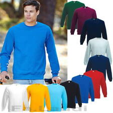 Fruit of the Loom, Set-in Sweat Shirt, Arbeits - Pullover Gr. S - 3XL