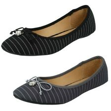 Mujer Spot On Zapatos Informales planos F80009