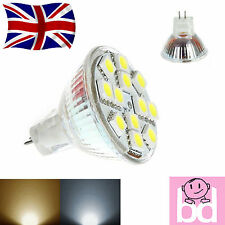 MR11 GU4 12v 2.5W SMD LED Risparmio Energetico Efficienza Riflettore Lampadina