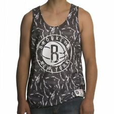 Canotta Mitchell & Ness: NBA Reversible Mesh Tank Brooklyn Nets GR/WH