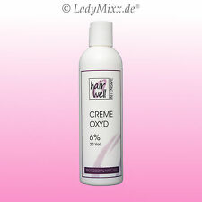 6% Creme Oxyd 250ml  H2O2 Wasserstoffperoxid Oxydant Hairwell INTENSIVE EURODOR
