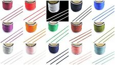 5M x 1.5mm Premium Rattail Satin Cord - GR8 4 KUMIHIMO - 15 Colours - lady-muck1